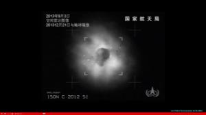 Un radar Chinois dévoile deux objets autour de la comète ISON : Hoax ?  dans Astronomie capture-d-ecran-91-copie-1-300x168